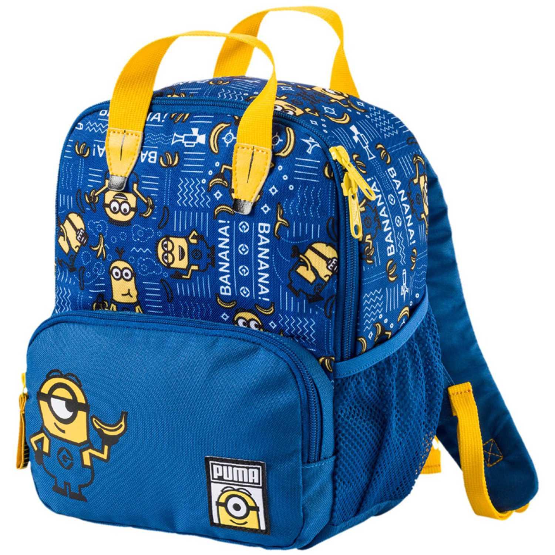 cfdbb0fdae2 Mochila de Niño Puma Azul   Amarillo minions small backpack ...