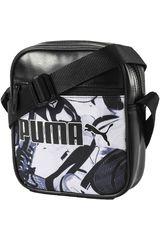 Puma Negro / Blanco de Hombre modelo CAMPUS PORTABLE Morrales