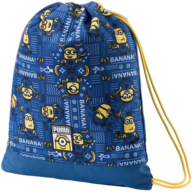 Bolso de Niño Puma Azul / amarillo minions gym sack