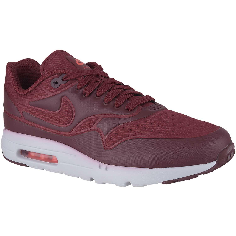 Zapatilla de Hombre Nike rojo / blanco air max 1 ultra se