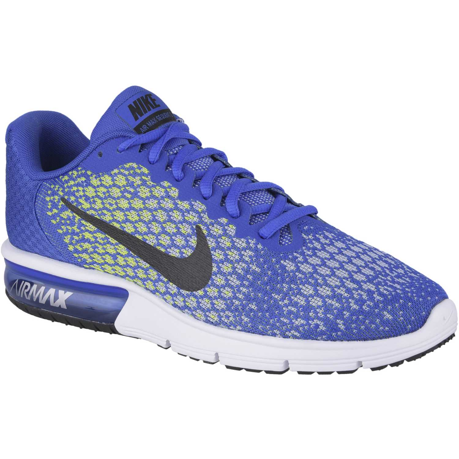 competitive price ca4fe e9917 Zapatilla de Hombre Nike Azulino   verde air max sequent 2