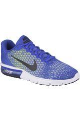 Nike Azulino / verde de Hombre modelo AIR MAX SEQUENT 2 Deportivo Zapatillas Running