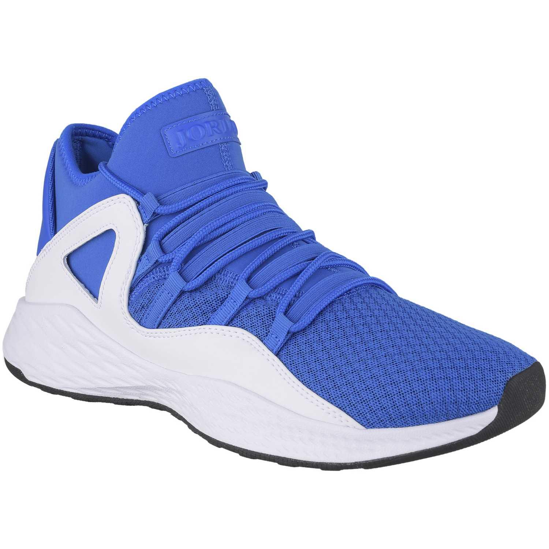 Zapatilla de Hombre Nike Azulino / blanco jordan formula 23