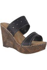Platanitos Negro de Mujer modelo SCT-85A2 Sandalias Comfort