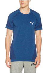 Puma Azul / Blanco de Hombre modelo EVOKNIT BEST TEE Deportivo Polos