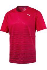 Puma Rojo de Hombre modelo GRAPHIC S/S TEE Deportivo Polos