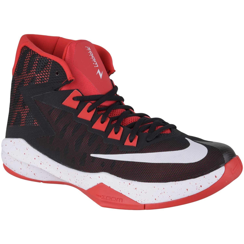 Zapatilla de Hombre Nike Negro / rojo zoom devosion