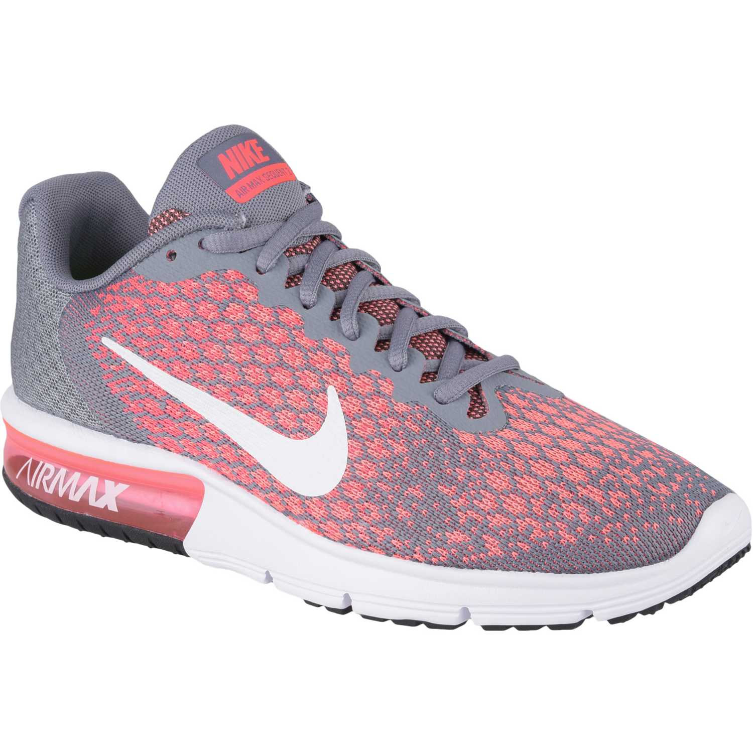 hot sale online cda11 46e12 Zapatilla de Mujer Nike Gris   rosado wmns air max sequent 2