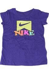 Nike Morado de Niña modelo DOT DOT DOT TEE Deportivo Polos