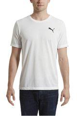 Puma Blanco / Negro de Hombre modelo ACTIVE TEE Polos Deportivo