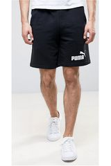 Puma Negro / Blanco de Hombre modelo ESS NO.1 SWEAT SHORTS 9 Deportivo Shorts
