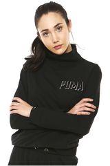 Puma Negro de Mujer modelo FUSION TURTLENECK SWEAT W Poleras Deportivo