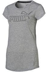 Puma Gris de Mujer modelo ACTIVE ESS NO.1 TEE W Deportivo Polos