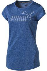 Puma Azul de Mujer modelo ACTIVE ESS NO.1 TEE W Deportivo Polos