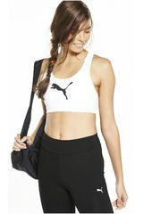 Puma Blanco / Negro de Mujer modelo PWRSHAPE FOREVER - LOGO Deportivo Tops