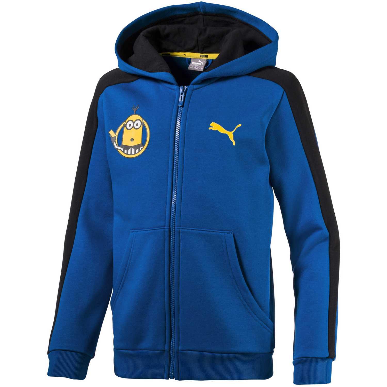 d0defe90af Polera de Jovencito Puma Azul minions hooded jacket