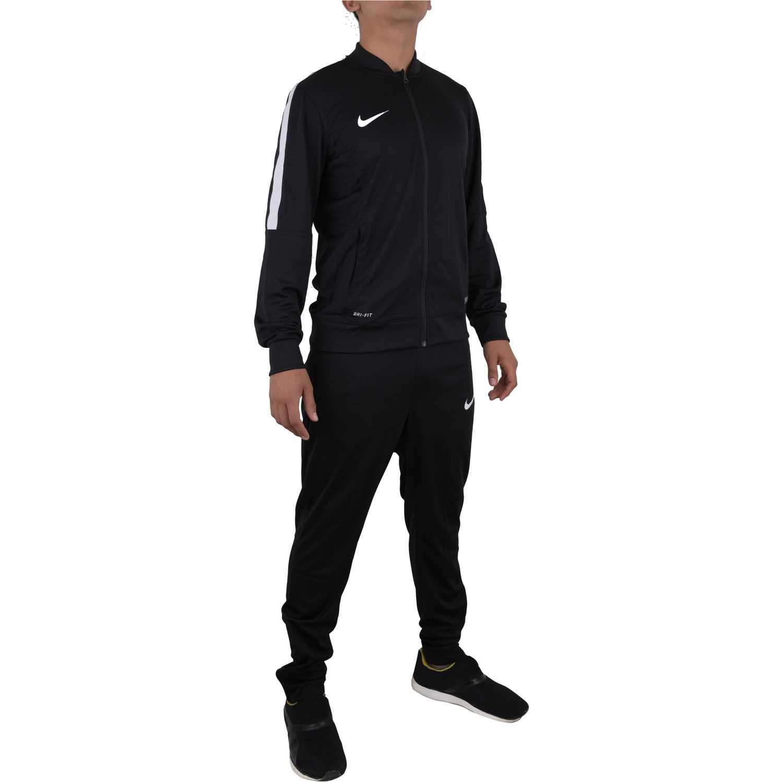 f8d1101cf Buzo de Hombre Nike Negro academy sdln knit warm-up   platanitos.com