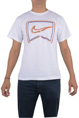 Nike Blanco de Niño modelo NEON LIGHTS TEE Polos Casual