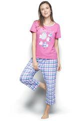 Pijama de Mujer Kayser 70.652 Fucsia