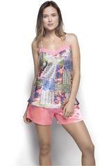 Pijama de Mujer Kayser 70.681 Fucsia