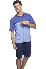 Kayser Azul de Hombre modelo 77.556 Lencería Pijamas Ropa Interior Y Pijamas