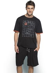 Pijama de Hombre Kayser Negro 77.557