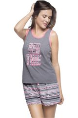 Kayser Gris de Mujer modelo 70.664 Pijamas Lencería Ropa Interior Y Pijamas