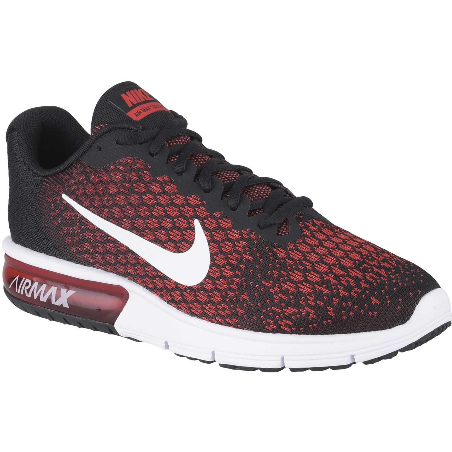 separation shoes 3508c 277f4 Zapatilla de Hombre Nike Negro / rojo air max sequent 2 | platanitos.com