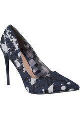 Platanitos Azul de Mujer modelo C-8166 Casual Tacos Zapatos