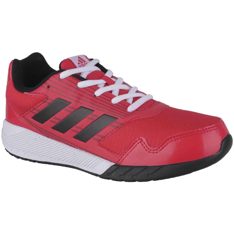 buy online 433a3 f4414 Zapatilla de Jovencito adidas rojo  negro altarun k