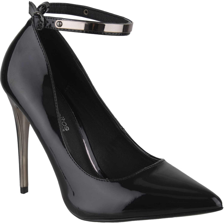 Calzado de Mujer Platanitos Negro c-0131