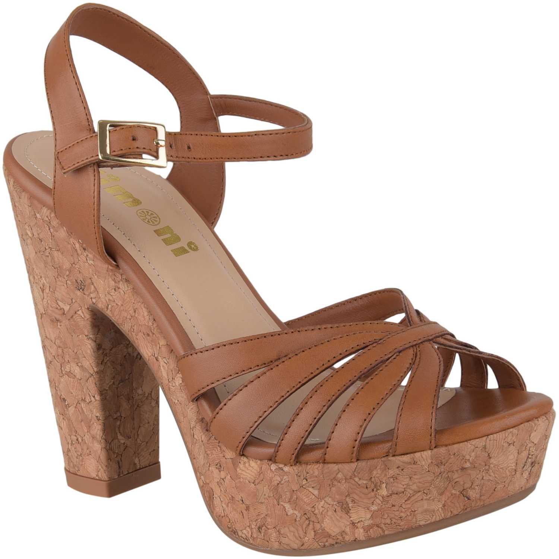 Sandalia Plataforma de Mujer Limoni - Cuero Camel sp madyson3
