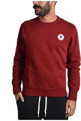 Converse Rojo / Blanco de Hombre modelo CORE CREW NECK Chompas Casual