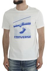 Converse Blanco de Hombre modelo HANGING CHUCKS PHOTO TEE Casual Polos