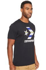 Converse Plomo de Hombre modelo STAR CHEVRON STRIPE FILL TEE FR Casual Polos