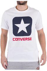 Converse Blanco de Hombre modelo CORE BOXSTAR TEE Casual Polos