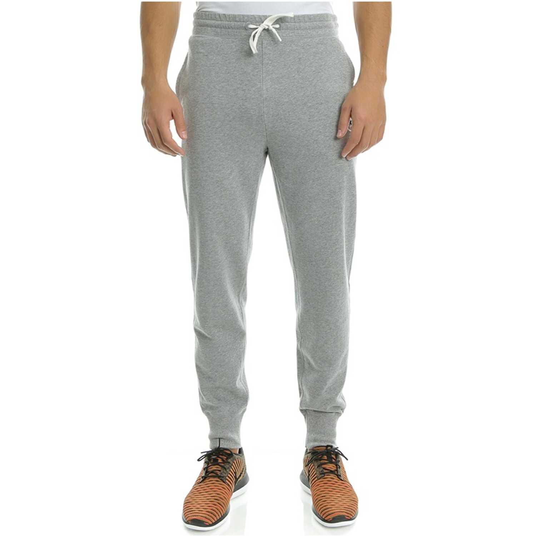 Pantalón de Hombre Converse Gris core ft rib cuff jogger
