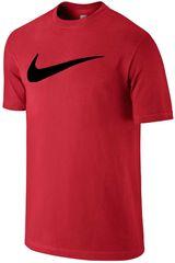 Polo de Hombre Nike Rojo / Amarillo CHEST SWOOSH TEE