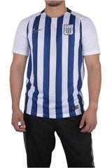 Nike Azul / Blanco de Hombre modelo AL M NK DRY STDM JSY SS H (ALIANZA LIMA) Deportivo Camisetas Polos