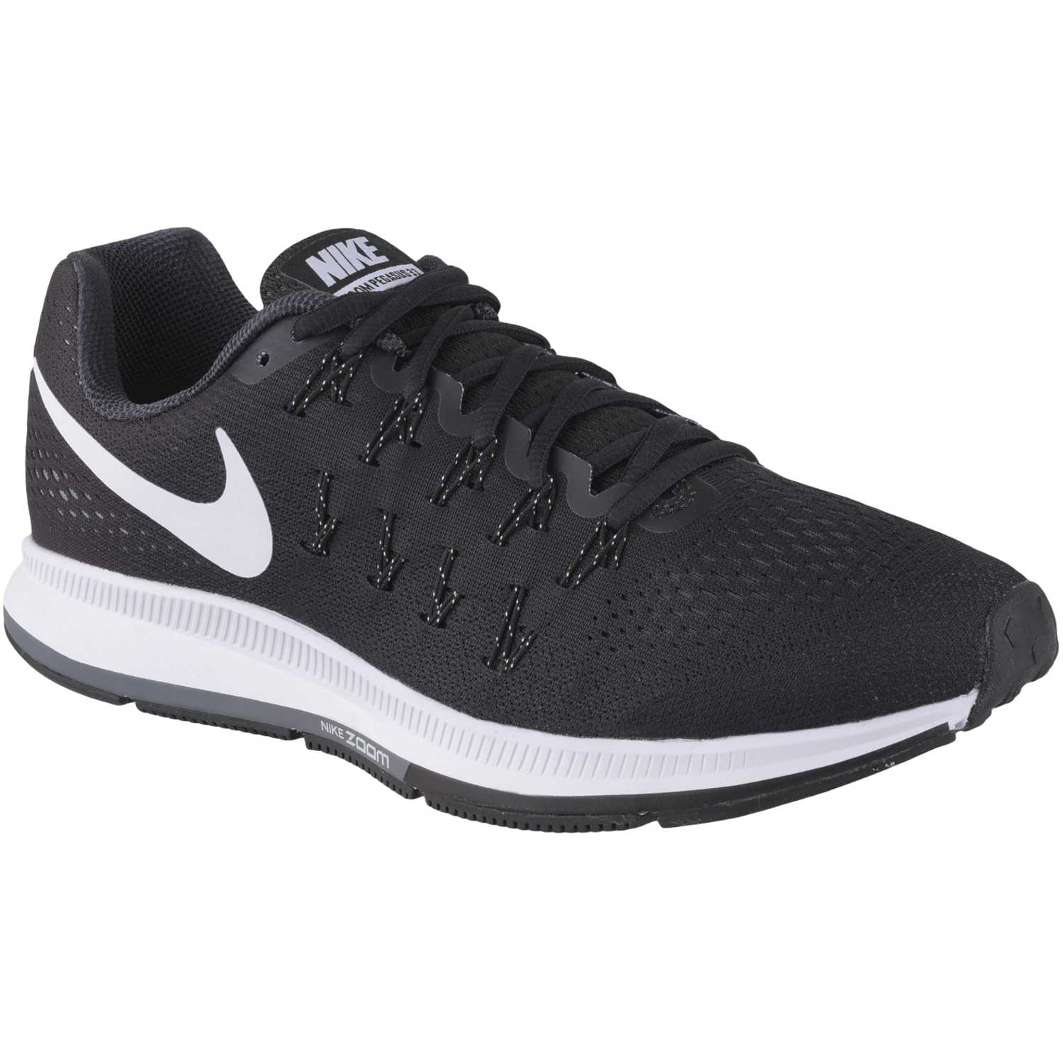 newest collection 951b2 5d40a Zapatilla de Hombre Nike Negro   Blanco air zoom pegasus 33