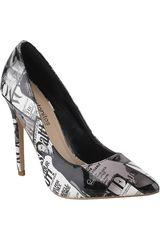 Platanitos Negro de Mujer modelo C-41012 Casual Tacos Zapatos
