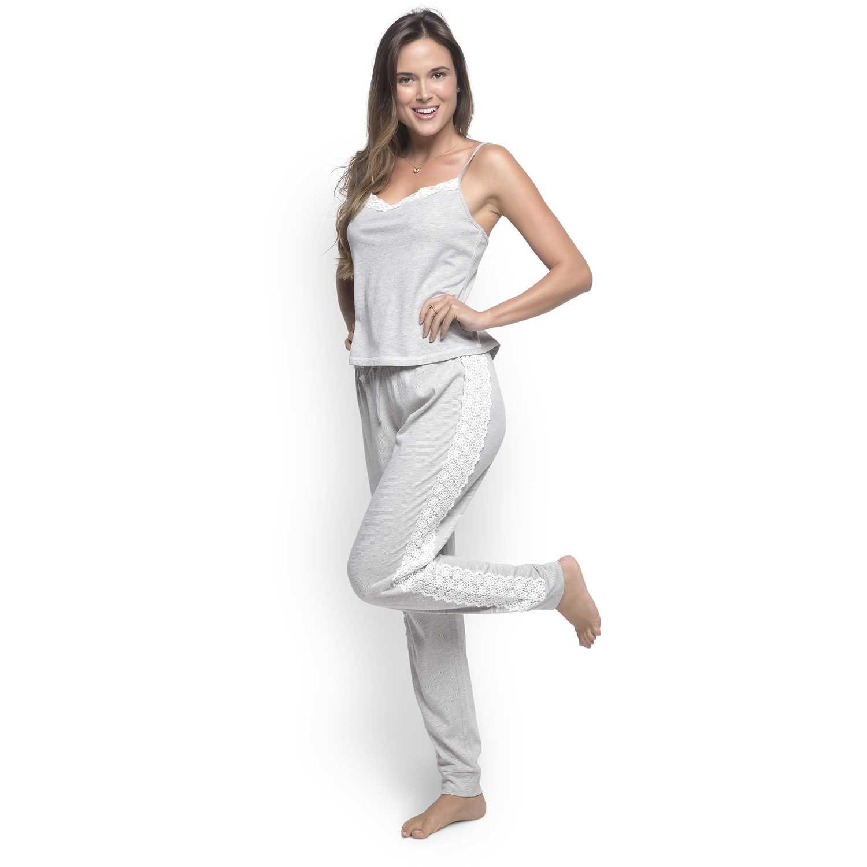 Pijama de Mujer Kayser Gris 70.685