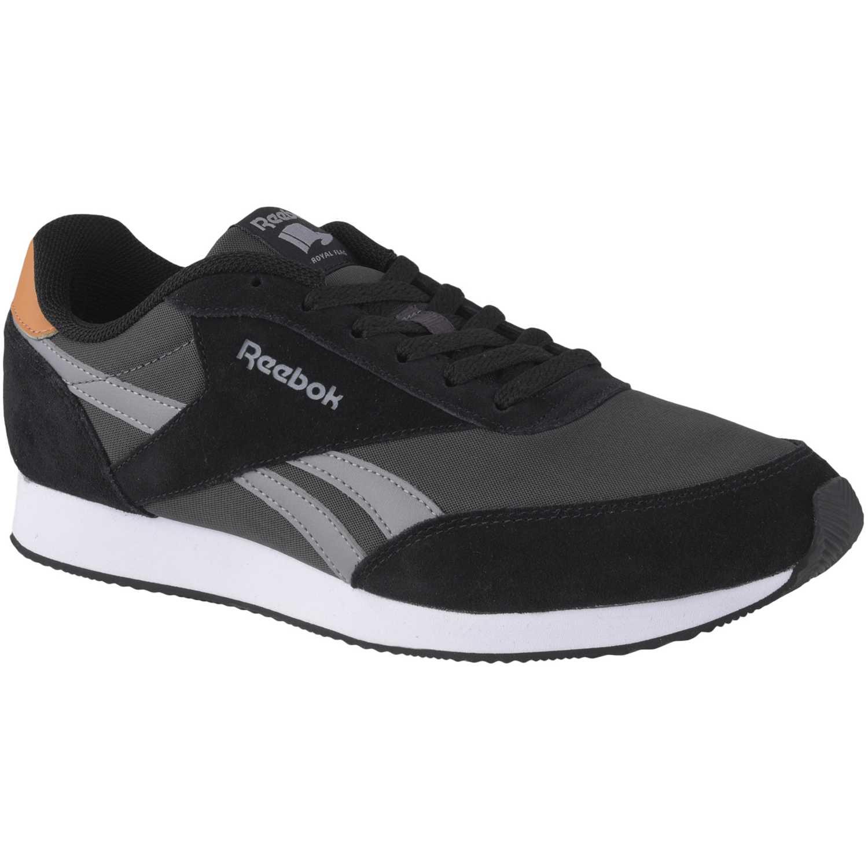 Zapatilla de Hombre Reebok Negro /Gris royal cl jogger 2