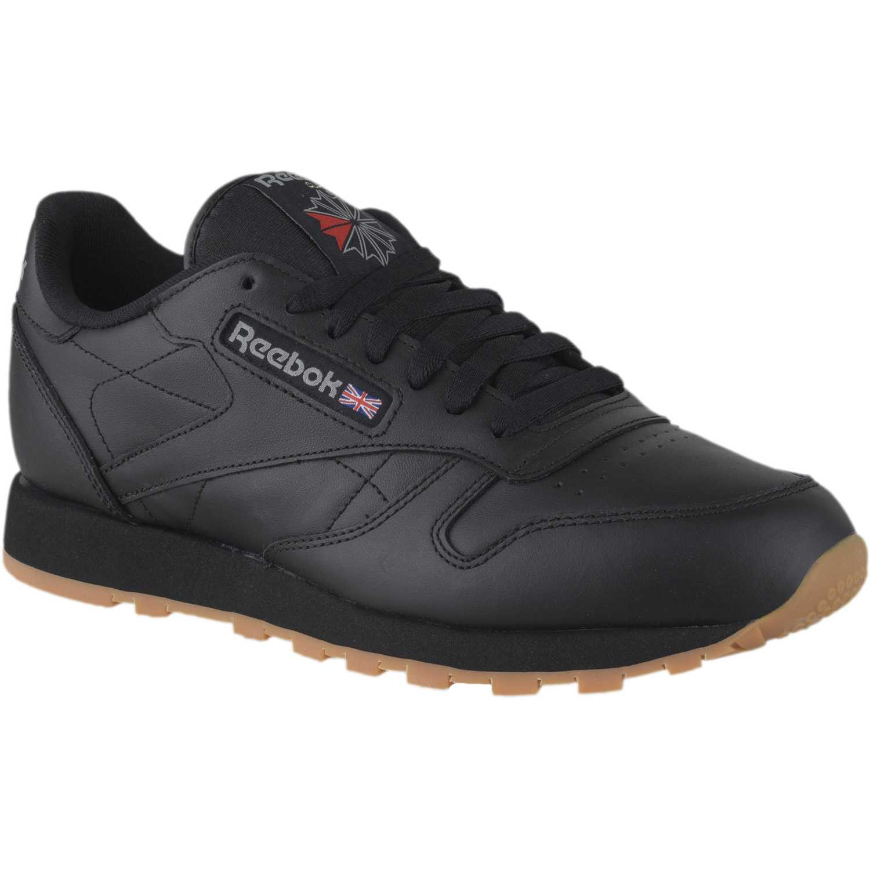 52aed4a8c09 Zapatilla de Hombre Reebok Negro   negro classic leather ...