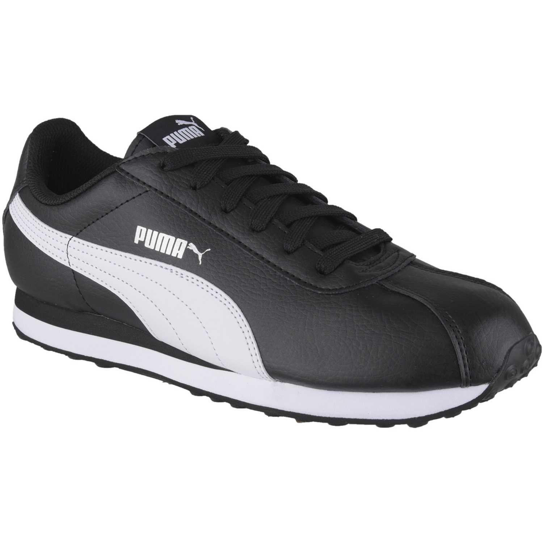 Zapatilla de Hombre Puma Negro / Blanco turin