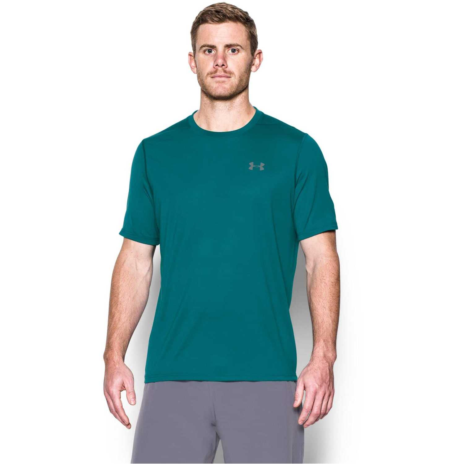 Polo de Hombre Under Armour Turquesa ua threadborne ss