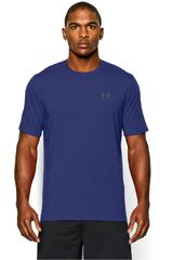 Under Armour Azul / Blanco de Hombre modelo CC LEFT CHEST LOCKUP Polos Deportivo