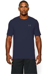 Under Armour Acero / Azul de Hombre modelo CC LEFT CHEST LOCKUP Deportivo Polos