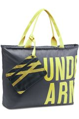 Under Armour Gris / Verde de Mujer modelo UA BIG WORD MARK TOTE Bolsos Carteras