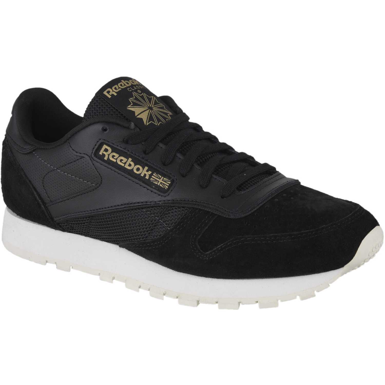 7372dc845533f Zapatilla de Hombre Reebok Negro   Blanco cl leather alr ...
